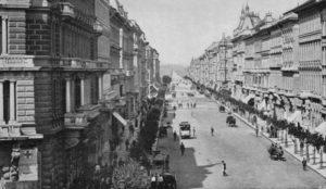 Avenue Andrássy en 1875