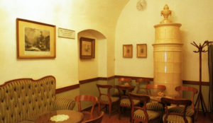 Café Ruszwurm de l'intérieur