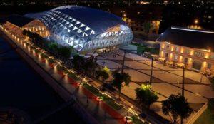 Centre culturelle et commerciale