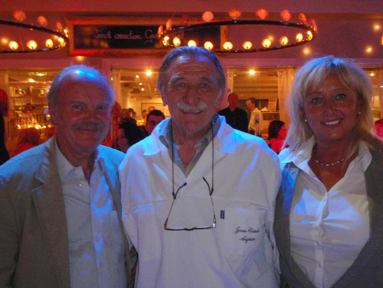 soirée au restaurant Symbol avec Jean-Claude Aiguier chef étoilé au guide Michelin