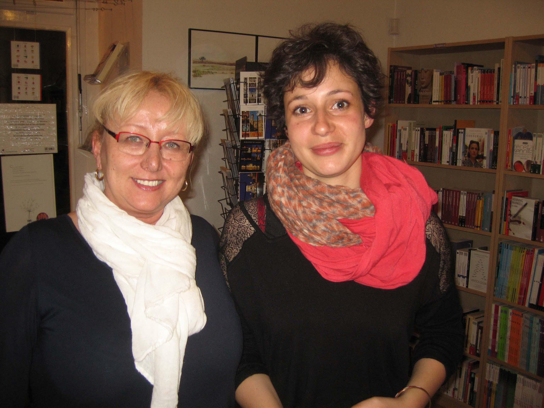 avec Alice Zeniter auteur du livre « Sombre Dimanche »