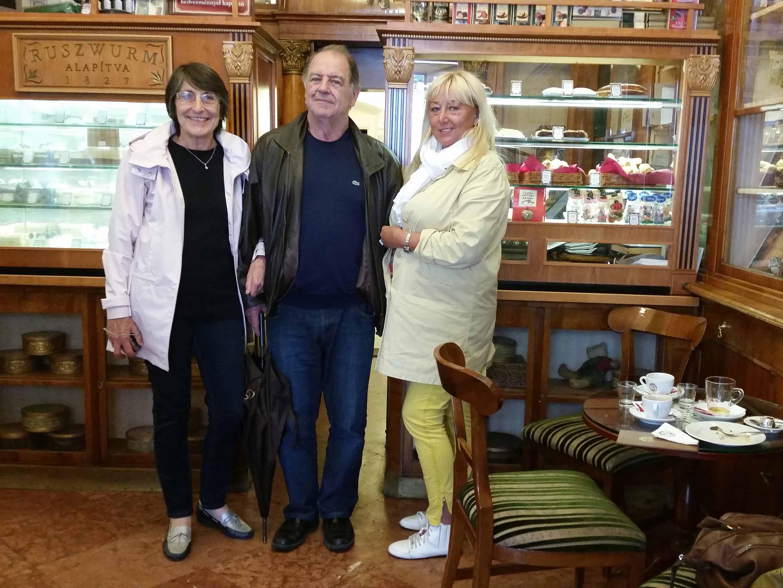 dans le café « Ruszwurm » au château - fondé en 1827