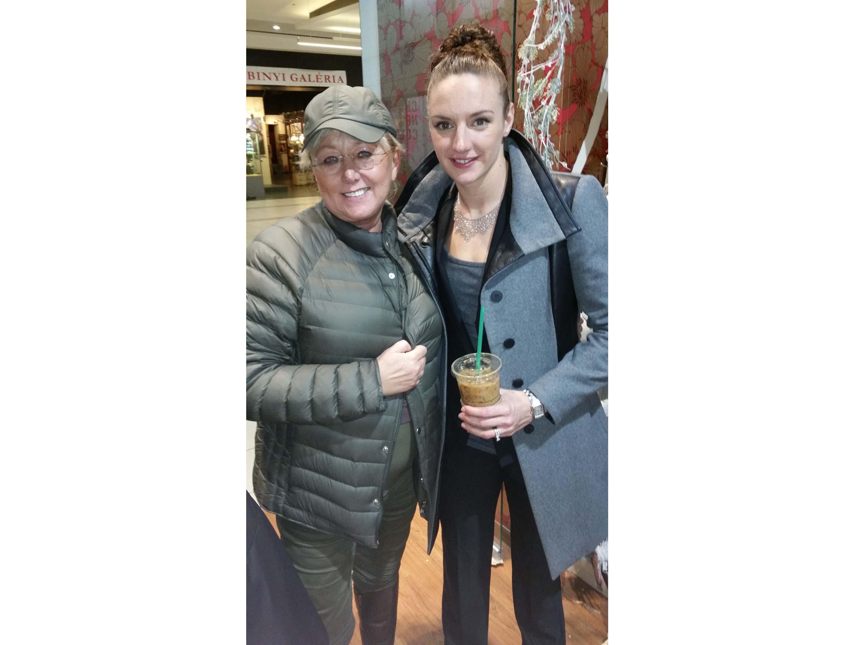 avec la championne de natation Katinka HOSSZU