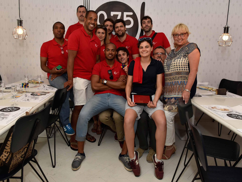 Team Building réalisé pour une des Sociétés du groupe Vinci