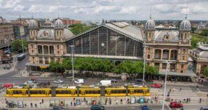 Gare de l'Ouest construit par le bureau Eiffel