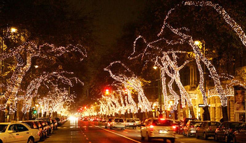 Illumination de Noël
