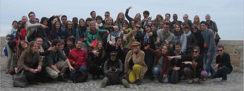 avec 60 étudiants en histoire de l'Université Rennes 2