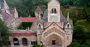 chapelle de Ják au Bois de la ville