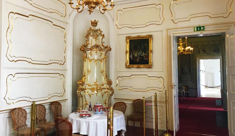 chateau intérieur