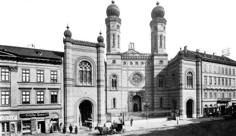La Grande Synagogue en 1896