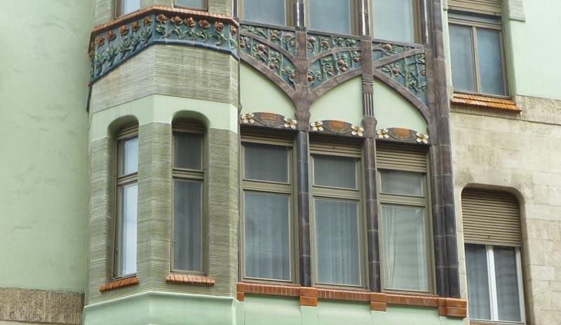 façade de la maison Bedő