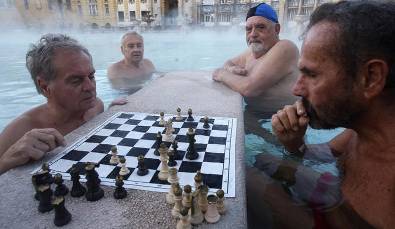 joueurs aux échecs