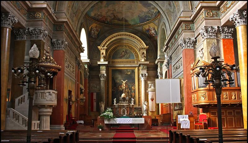 la Basilique intérieur