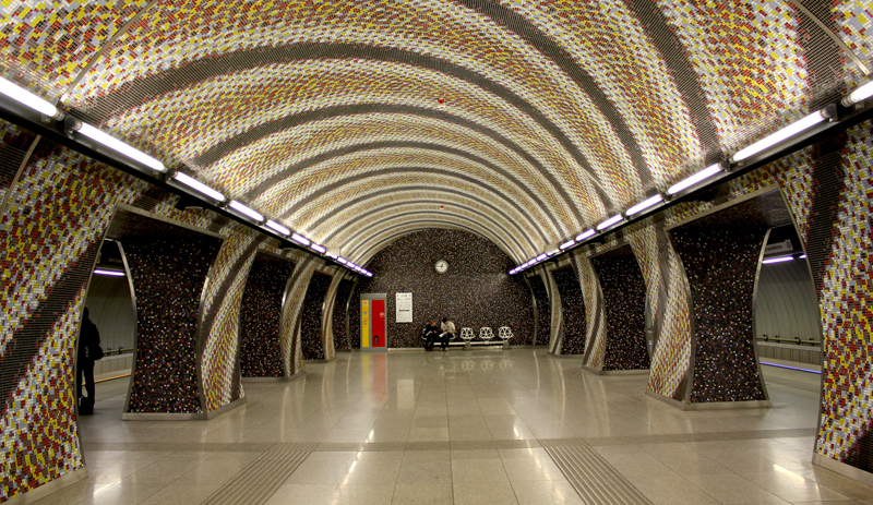 station Gellért du métro No 4
