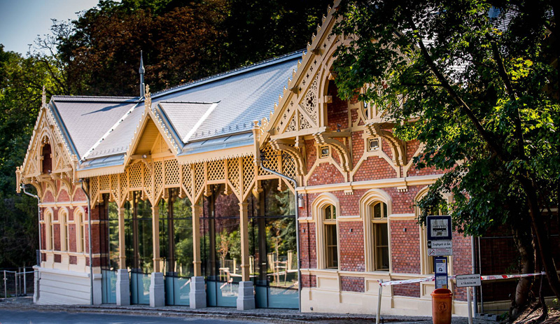 terminal tram à chevaux rénové