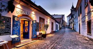 restaurant grecque à Szentendre