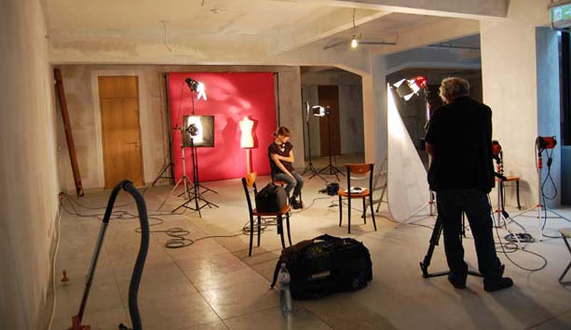 un atelier de photo