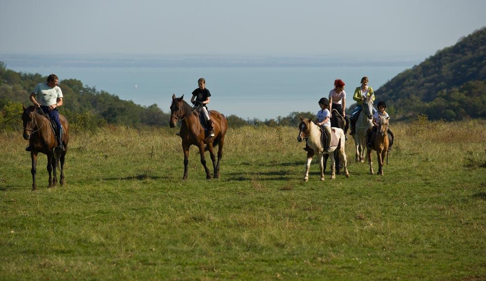 équitation dans l'arrière-pays