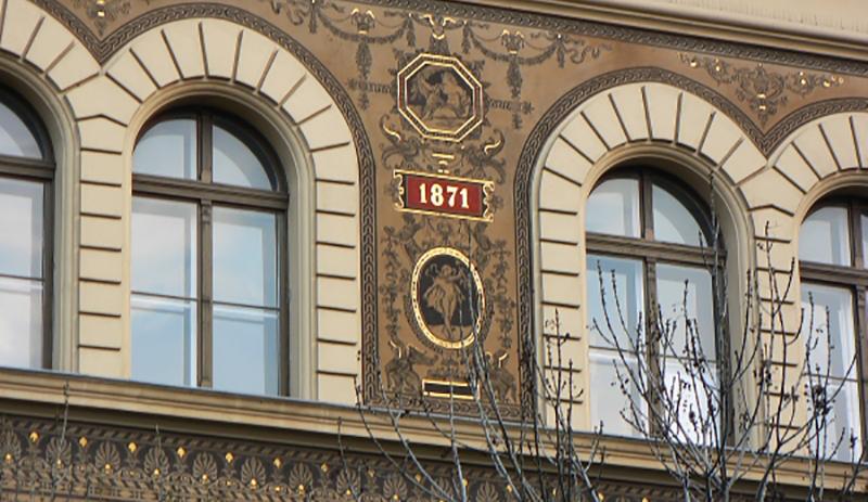 façade peinte