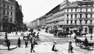 Grand Boulevard à l'Oktogon