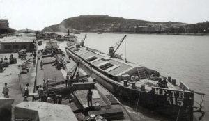 Quai de Danube en 1896