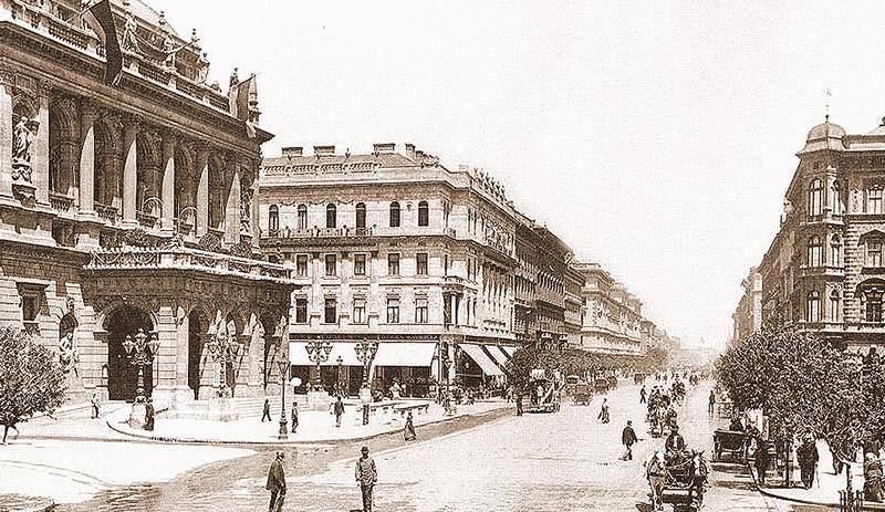 avenue Andrássy en 1896