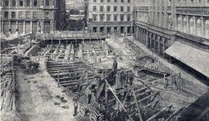 construction du métro millénaire