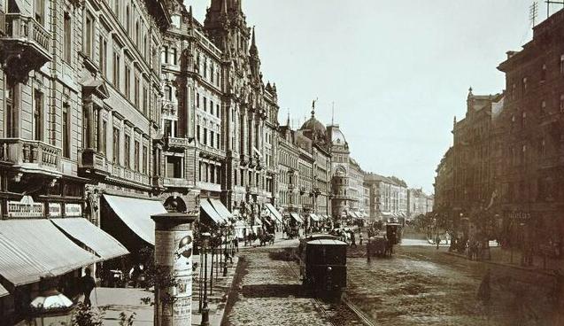 le grand boulevard en 1896