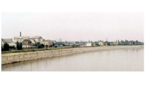 les environs du Théâtre National en 1992