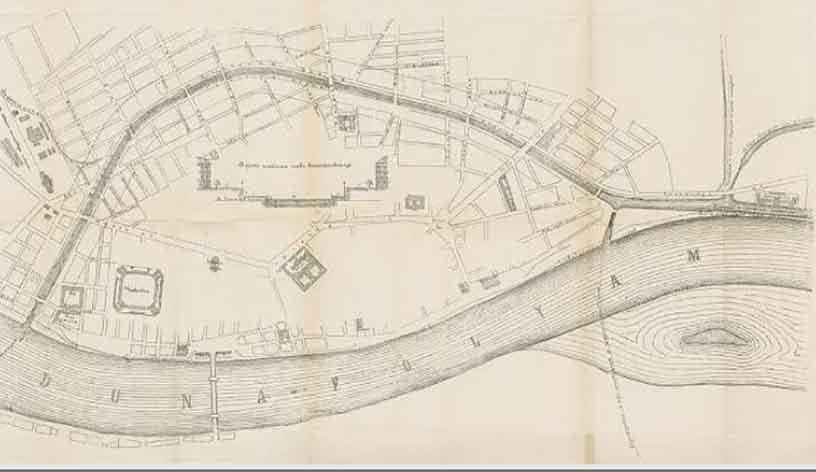 plan de canal 1865