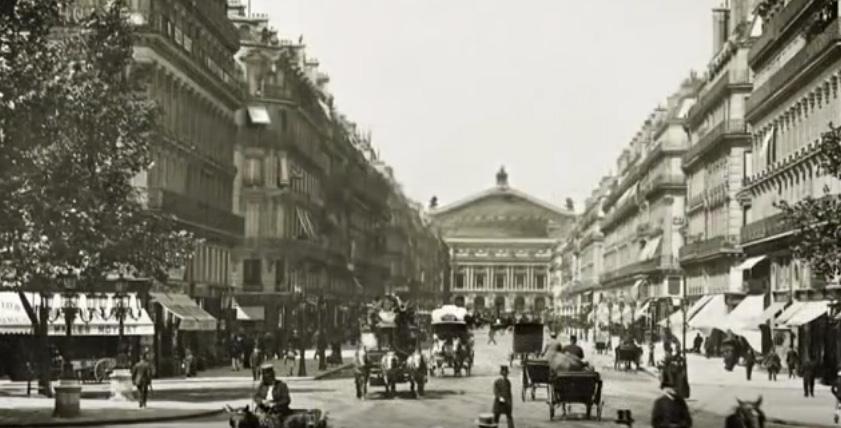 Avenue de l'Opéra après Haussmann