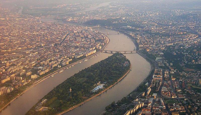 Budapest vu du ciel