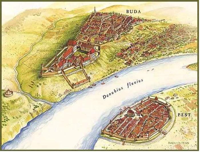 Pest et Buda au Moyen Age