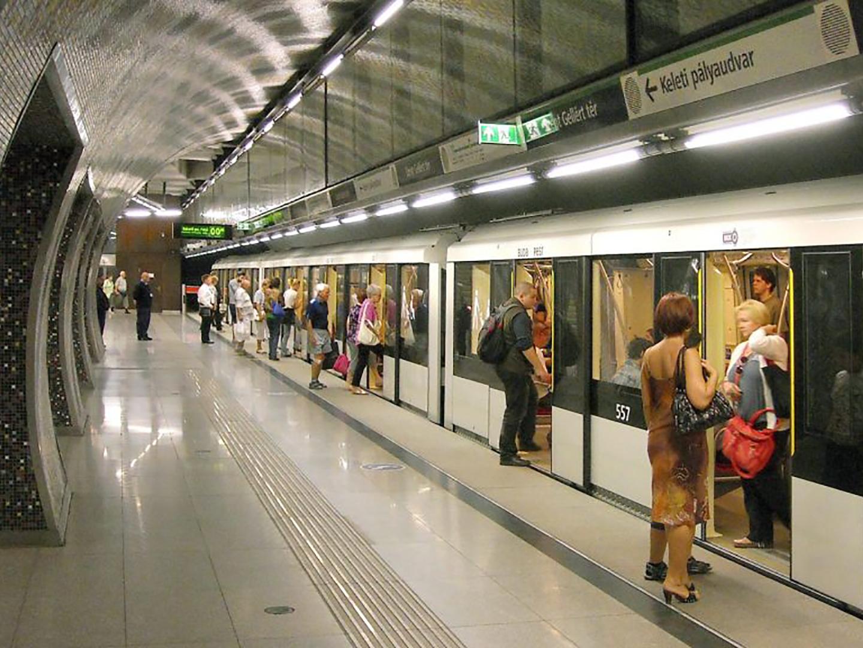 Le métro de Budapest