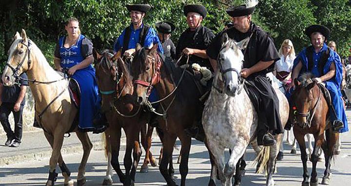 les gardiens des chevaux (csikós)