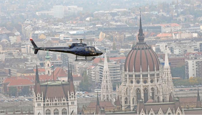 Survol de Budapest en hélicoptère