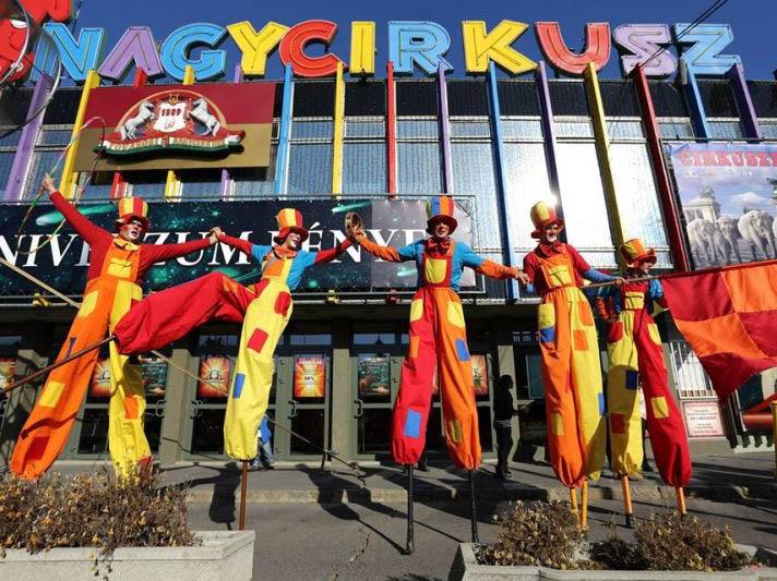 Le Grand cirque de Budapest