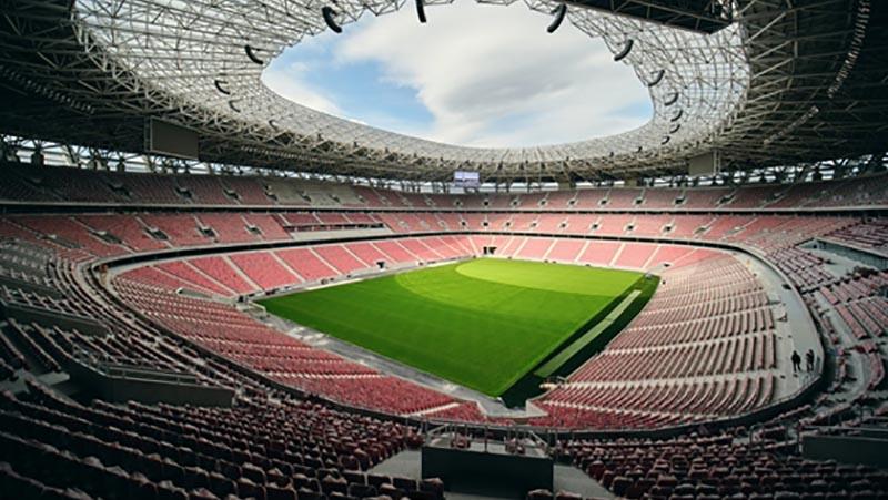 Stade de foot à Budapest