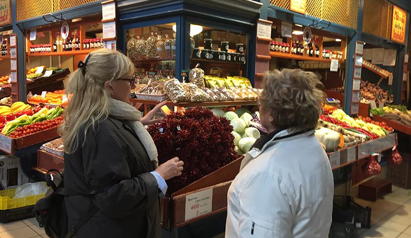 Ditta au marché