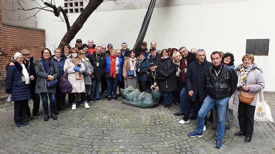 visite de quartier juif avec un groupe israélite de 38 personnes