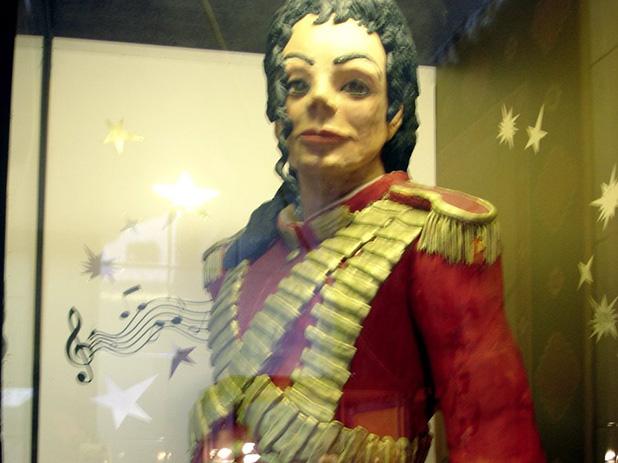 Michael Jackson en pâte d'amande