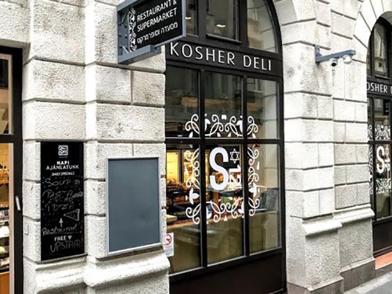 Restaurant casher à Budapest