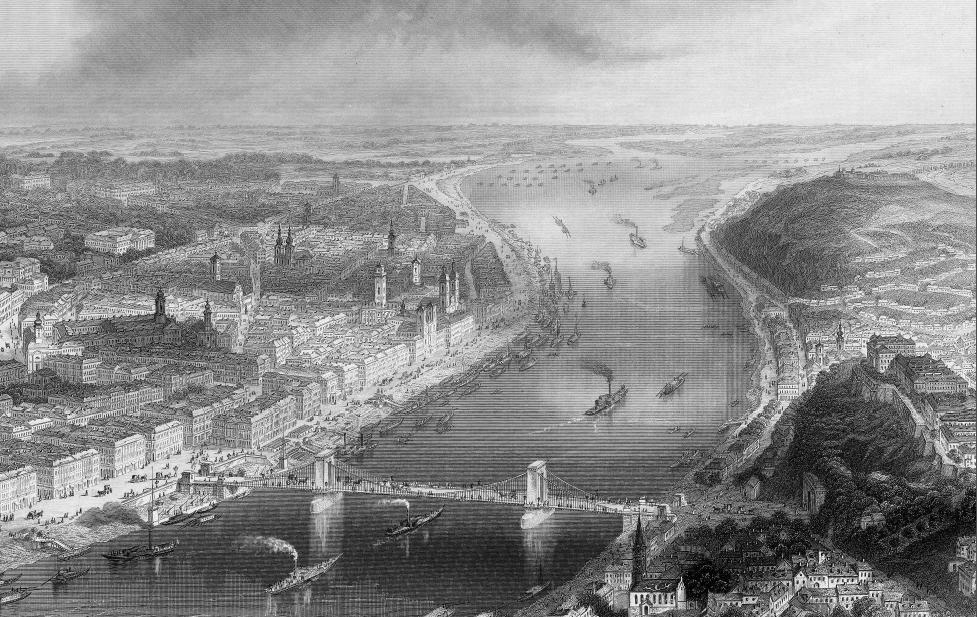Budapest en 1850